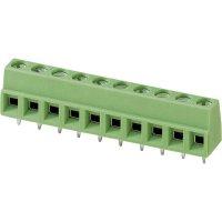 Pájecí svorkovnice 6nás. Phoenix MKDSN 1,5/ 6 (1729050), AWG 26-16, 5 mm, 13,5 A, zelená