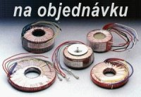 Trafo tor. 330VA 2x22-7.5 (120/60)