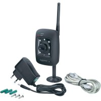 Barevná bezpečnostní Wi-Fi/LAN kamera Sygonix 43171S, 640 x 480 px