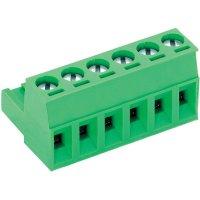 Šroubová svorka PTR AKZ950/6-5.08 (50950060021E), AWG 41995, 250 V/AC, 5,08 mm, zelená