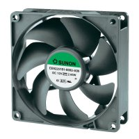 Ventilátor Sunon DR EE92251S1-000U-A99, 92 x 92 x 25 mm, 12 V/DC