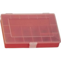 Box na součástky Alutec 608100, červená