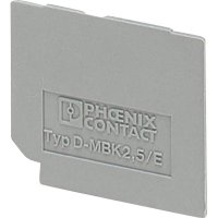 Zakončovací kryt Phoenix Contact D-UK 2,5 BU (3001103)