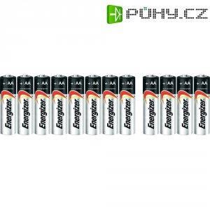 Alkalická baterie Energizer Ultra+, typ AA, sada 8 ks + 4 zdarma