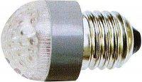 Žárovka LED E27-12x bílá,230V/2W
