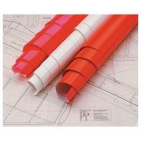 Oracover 21-020-002 (d x š) 2000 mm x 600 mm červená