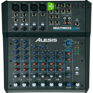 Mixážní pult Alesis Multimix 8 USB FX