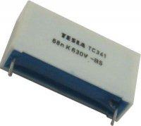 82n/630V TC341, svitkový kondenzátor impulsní