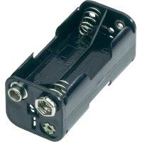 Držák na baterie 4x AAA s klipkonektorem Goobay 11990, 54.5 x 26 x 24.5 mm