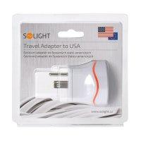 Cestovní adaptér pro použití ve Velké Británii PA01-USA