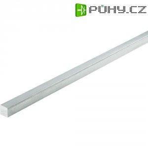 4-hranný profil Al/Cu/Mg/Pb/F37, 20 x 20 x 200 mm