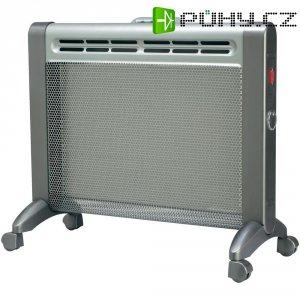 Přenosné topení, 650/1000 W, IP24, šedá