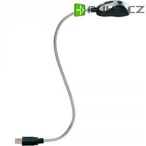 USB lampička se 2 LED a husím krkem
