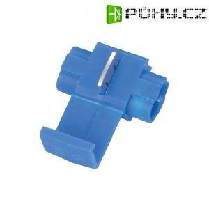 Zářezová svorka 3M, 80-6100-3104-1, 0,75 - 1 mm², 2pólová, modrá