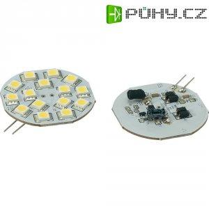 LED žárovka Renkforce, G4, 2,8 W, 30 V, 54,3 mm, teplá bílá