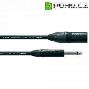 Kabel Cordial® CMK 222 CPM 10 MP, XLR(F)/mono jack 6,3 mm, 10 m, černá
