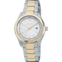 Ručičkové náramkové hodinky Eurochron 903 Quartz, pásek z nerezové oceli, stříbrná/zlatá