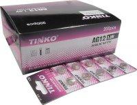 Baterie TINKO LR43 (AG12,LR1142,GP386) alkalická, balení 200ks