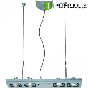 Závěsná halogenová lampa SLV Aixlight Kardaframe Long, 4x 50 W, GU10, podélná