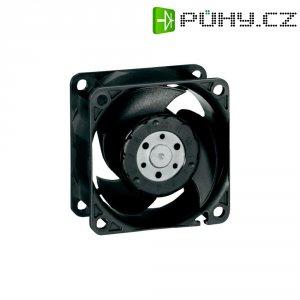 Axiální ventilátor EBM Papst 8212 JN, 12 V, 55 dBA, 80 x 80 x 38 mm, černá