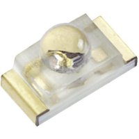 SMD LED Kingbright, KPTD-1608QBC-D, 20 mA, 3,3 V, 40 °, 200 mcd, modrá