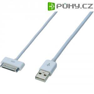 Napájecí/datový kabel pro iPad/iPhone/iPod ednet Apple, 0,5 m