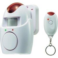 Bezdrátový alarm s detektorem pohybu, 323, 110 dB, 8 m