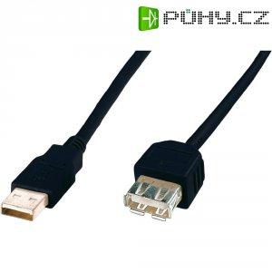 Kabel USB 2.0, USB A/USB zásuvka A, 1,8 m, Digitus