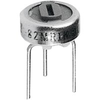 Cermetový trimr TT Electro, 2046001401, 500 Ω, 0,5 W, ± 10 %