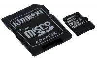 Paměťová karta KINGSTON micro SDHC 32GB Class 10 + adaptér