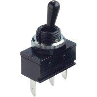 Ochranný přepínač splastovou otočnou páčkou 250 V/AC 16 A Arcolectric C1722ROAAA 1 ks