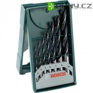 Vrtáky do dřeva 3-10 mm Bosch,7 ks