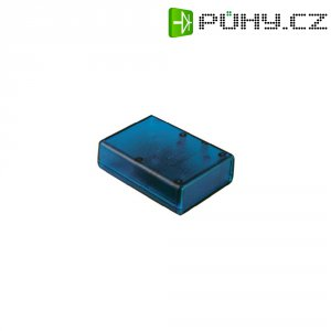 Univerzální pouzdro ABS Hammond Electronics 1593QTBU, 112 x 66 x 28 mm, modrá (1593QTBU)