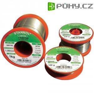 Cínová pájka Stannol HF 34, Sn60Pb40, Ø 1 mm, 100 g