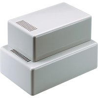 Plastové pouzdro Strapubox, (š x v x h) 102 x 60 x 160 mm, šedá