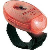 Bezpečnostní LED svítilna/blikač Sigma 17230 s páskem, červená