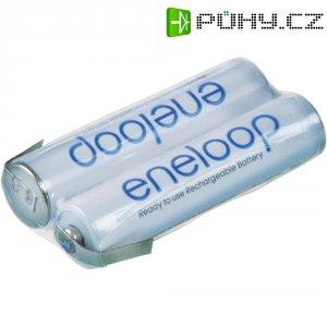 Akupack s pájecími kontakty Sanyo eneloop AAA, 2,4 V, 800mAh