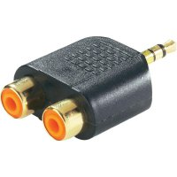 Jack adaptér 3 pin, 3,5 mm na 2x Cinch