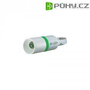 LED žárovka W2x4.6d Signal Construct, MEDW4601, 6 V, 500 mcd, červená, MEDW
