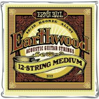 Struny na 12-strunou kytaru Ernie Ball Earthwood Bronze Medium, 011 - 052