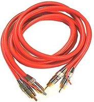 Kabel 2xCinch-2xCinch 5m se středním ovládacím lankem
