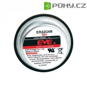 Lithiová baterie Eve, typ ER22G68, s pájecími kontakty
