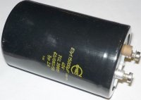 15000u/40V 85° TGL39681, 65x100mm, elektrolyt.kondenzátor radiální