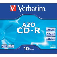 CD-R 80 700 MB Verbatim 43327 10 ks Jewelcase