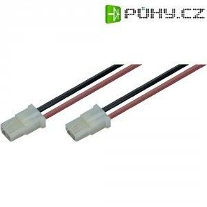 Napájecí kabel Modelcraft, AMP zásuvka, 1,5 mm², 1 pár