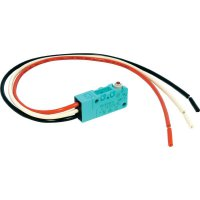 Mikrospínač Panasonic, ABV16106131J, 250 V/AC, 30 V/DC, 3 A