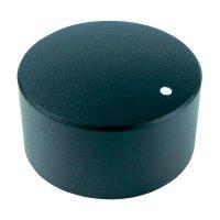 Otočný knoflík Cliff FC7233, pro sérii KMR, 6 mm, s drážkováním, černá