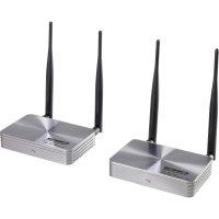 HDMI bezdrátový přenos (sada) SpeaKa Professional SP-HDFS-03, 100 m, 5 GHz, 1920 x 1080 pix