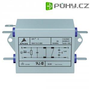Odrušovací filtr Epcos B84115EB110, 115/250 V, 50/60 Hz V, 250 V/A, 10 A, 10 A