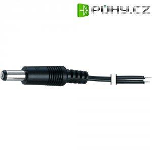 Napájecí kabel zástrčka / otevřený konec Voltcraft H25/120, rovná, 5,5/5,5/2,1 mm, 1,2 m